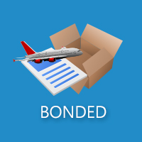 Domestic air freight of bonded and customs transferring cargo